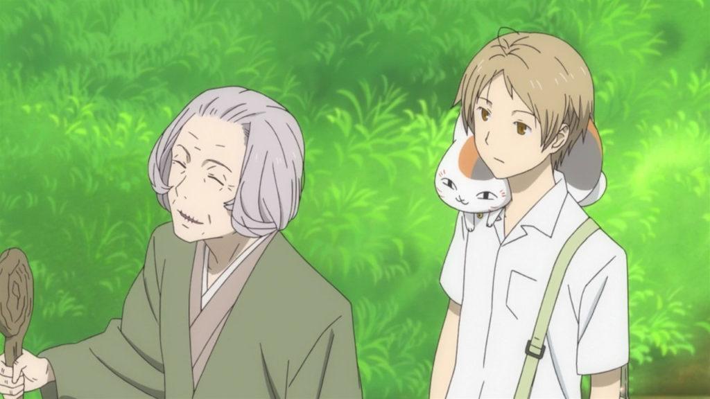 Кадры из аниме Тетрадь дружбы Нацумэ 7 сезон