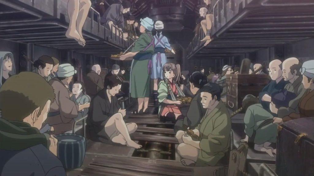 Кадры из аниме Кабанели железной крепости 2 сезон